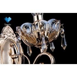 Бра с хрусталем 10037/1 золото/тонированные хрусталь Strotskis