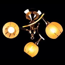 Люстра 3353/3 золото/желтый