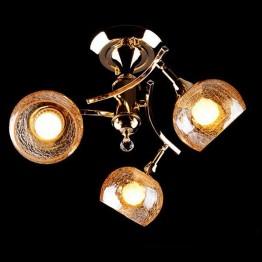 Люстра 3353/3Н золото/коричневый