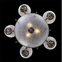 Люстра 60006/8 античная бронза