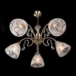 Люстра 60012/5 античная бронза