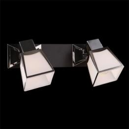 Настенный светильник 57021/2 хром/венге