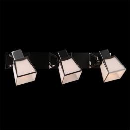 Настенный светильник 57021/3 хром/венге