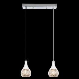 Подвесной светильник 50010/2 хром