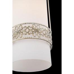 Подвесной светильник 50021/2 белый с золотом