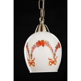 Подвесной светильник 50030/2 античная бронза