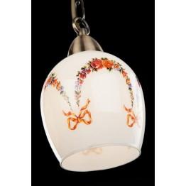 Подвесной светильник 50030/3 античная бронза