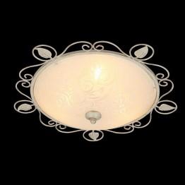 Потолочный светильник 40000/2 белый с золотом