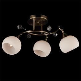Потолочный светильник 9604/3 античная бронза