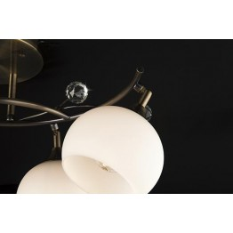 Потолочный светильник 9604/4 античная бронза