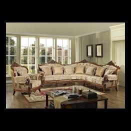 Комплект мягкой мебели Атлант кофейный
