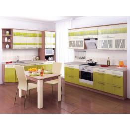 Кухонный гарнитур угловой Тропикана 22 (ширина 250х240 см)