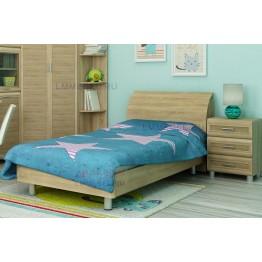 Детская кровать и прикроватная тумба Ксюша 025
