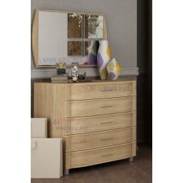 Комод и зеркало для спальни Дольче Нотте 055
