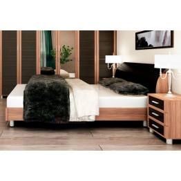 Кровать и прикроватные тумбы Камелия 021
