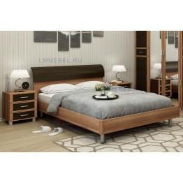 Кровать и прикроватные тумбы Камелия 025