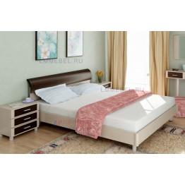 Кровать и прикроватные тумбы Камелия 026