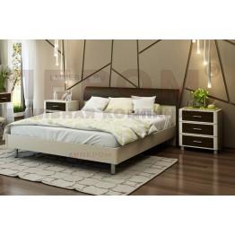 Кровать и прикроватные тумбы Камелия 030