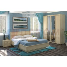 Спальня Карина 1 АС Лером цвет Ясень Асахи (АС)