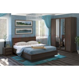 Спальня Карина 1 Лером цвет Акация Молдау (АТ)