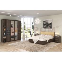 Спальня Карина 3 Лером цвет Акация Молдау (АТ)