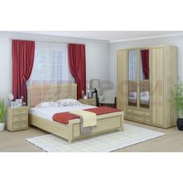 Спальня Карина 4 АС Лером цвет Ясень Асахи (АС)