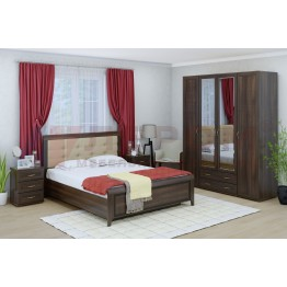 Спальня Карина 4 Лером цвет Акация Молдау (АТ)