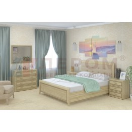 Спальня Карина 5 АС Лером цвет Ясень Асахи (АС)