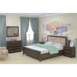 Спальня Карина 5 Лером цвет Акация Молдау (АТ)