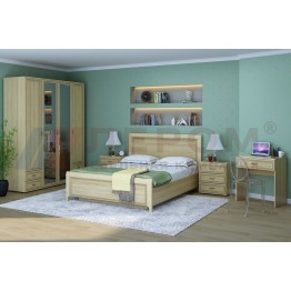 Спальня Карина 6 АС Лером цвет Ясень Асахи (АС)