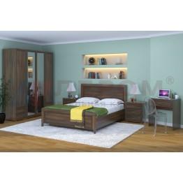 Спальня Карина 6 Лером цвет Акация Молдау (АТ)