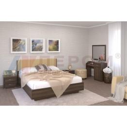 Спальня Карина 7 Лером цвет Акация Молдау (АТ)