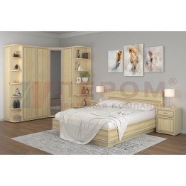Спальня Карина 8 АС Лером цвет Ясень Асахи (АС)