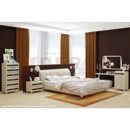 Спальня Лером Мелисса 1 БД-Я-ВЕ