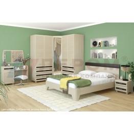 Спальня Лером Мелисса 12 БД-Я-ВЕ