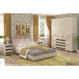 Спальня Лером Мелисса 3 БД-Я-ВЕ