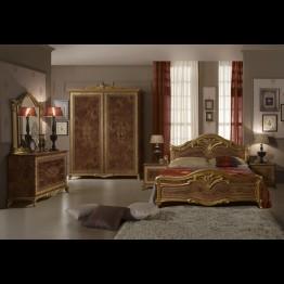 Шкаф 4-х дверный Яна