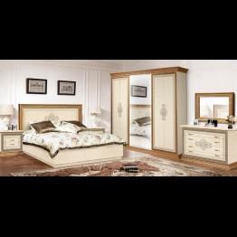 Кровать малая Николь светлая