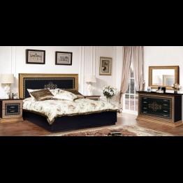 Кровать малая Николь темная
