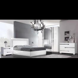 Кровать малая Венеция светлая