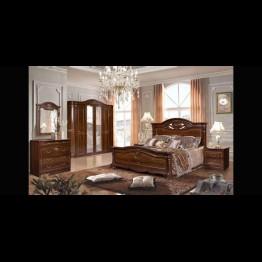 Кровать Сорренто темная