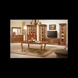 Шкаф с витриной двухстворчаты Витовт