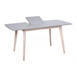 Стол обеденный раскладной LARGO (1200-1600x800x760) - серый