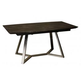 Стол обеденный раскладной SOHO (1600-2100х900х760) коричневый камень