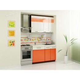 Кухонный гарнитур Оранж 5 (ширина 160 см)