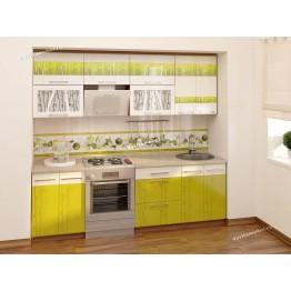 Кухонный гарнитур Тропикана 11 (ширина 240 см)