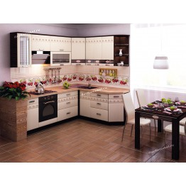 Кухонный гарнитур угловой Аврора 18 (ширина 240х190 см)