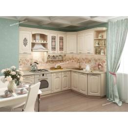 Кухонный гарнитур угловой Глория 3 18 (ширина 240x170 см)