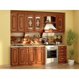 Кухонный гарнитур Глория 6 12 (ширина 240 см)