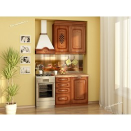 Кухонный гарнитур Глория 6 3 (ширина 140 см)